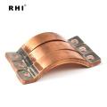 Bestes Material lamellierter kupferner Sammelschienen-elektrischer Strom-Verbindungsstück / flexible Stromschiene
