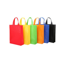 cheap recycled polypropylene laminated cooler drawstring pp eco friendly non woven fabric tote shoulder shopping bag