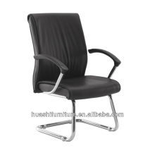 Black Leather Visitor chairs