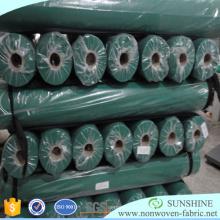 TNT tecido rolo Spunbonded não tecido têxteis