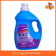 china manufacturer custom waterproof self paper adhesive sticker for laundry detergent