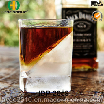 High-Grade Promotion 180ml Glass Whisky Cup with Ice (HDP-2059)