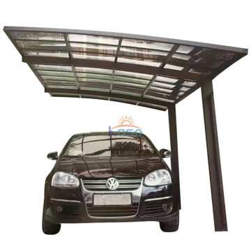 2 Car Parking Cantilever Carport med aluminium Carport