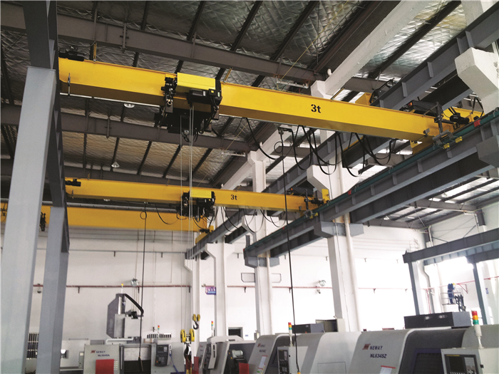 European Single Girder Bridge Crane
