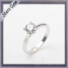 Anillo caliente de la joyería de la plata esterlina del estilo 925 de la manera de la venta