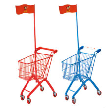 Kids Metal Shopping Small Supermarket Trolley