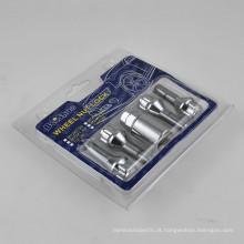 Conjunto de parafusos de trava da roda de 4 + 1 PCS para a segurança da roda