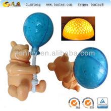brinquedos de plástico bebê LED Lâmpada de shell do molde de injeção