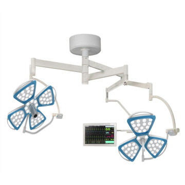 Doble cúpula LED OT Light con sistema de cámara
