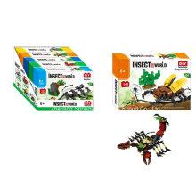 Brinquedo do bloco de edifício do boutique para o besouro do veado do mundo do inseto de DIY