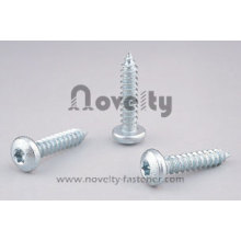 Pan Head Tapping Screw With Zinc Plated