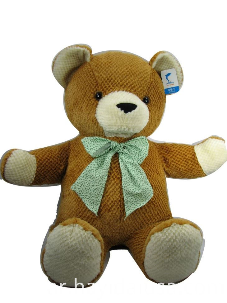 Soft Teddy Bear Plush Toy With Bow Tie