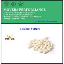 Extracto de hierbas de la salud y cápsula de calcio líquido