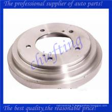 4351160A10 0832690 JBD390 F9600 BD125597 91172658 remplacement de frein à tambour arrière pour chevrolet tracker