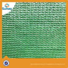 Invernadero Sun Shade Netting For Agriculture Pantalla plástica neta verde