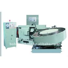 Horizontal steel ball polishing machine