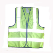 Reflective Safety Vest with Zipper Closure