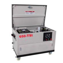 Générateur diesel silencieux mobile à quatre roues 5kw-15kw inclus