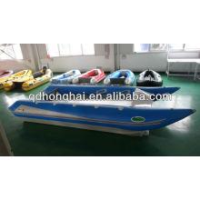 Barco inflável de velocidade CE de catamarã de alta velocidade