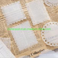 Sulfuric Paper Material Hollow-Carved Design Memo Paper