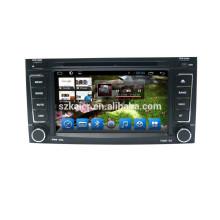 Quad core dvd lecteur pour voiture, wifi, BT, lien miroir, DVR, SWC pour VW OLD TOUAREG