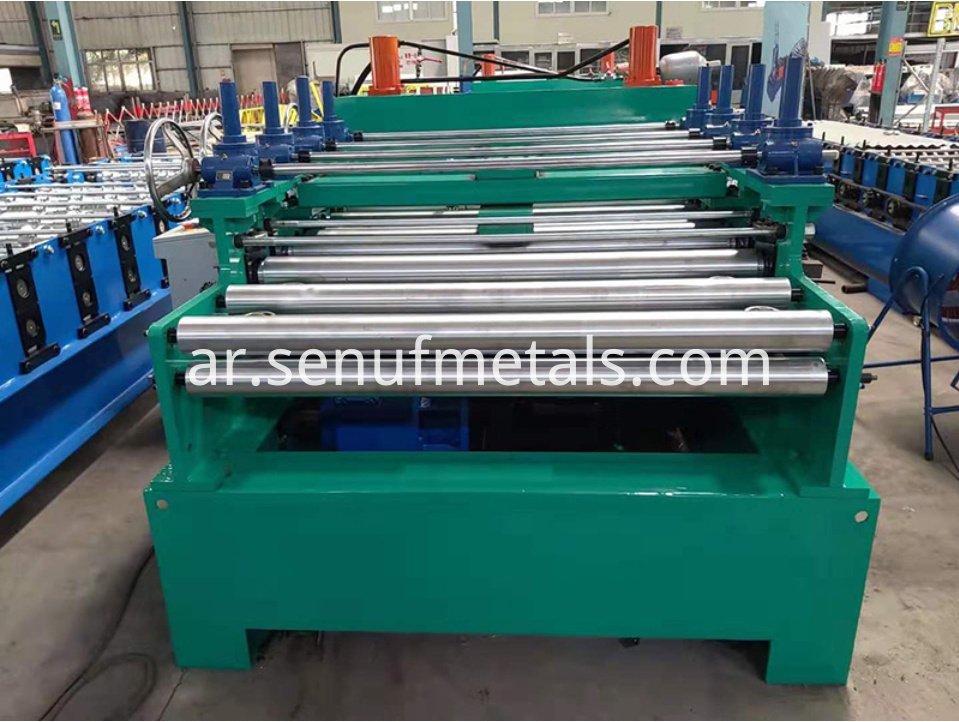 3*1600 straighten cut-to-length machine