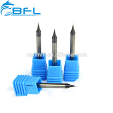 BFL 3.175 0.5mm End Mill Carbide Micro Tiped End Mill Cutter Tool