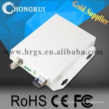 3G HDSDI 1 canal SDI / AUDIO / DATA a fibra óptica convertidor HDSDI