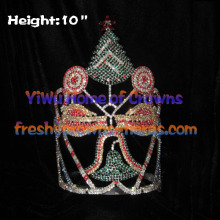Christmas Tree And Candy Crystal Pageant Crowns