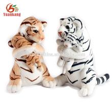 2016 padrão de tigre bicho de pelúcia brinquedo macio