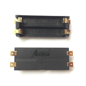 Support de batterie 2 * AAA, montage en surface SMD
