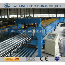 Fiting for developing country type automatic hot sale and good quality floor deck roll forming machine