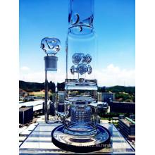 Hb King Nuevo diseño de botón Birdcage Perc tubo de vidrio con precio al por mayor