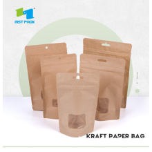 Resealable Stand Up Bags with Windows