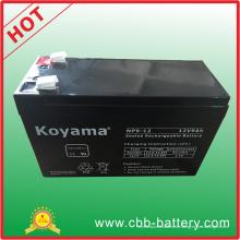 12V 9ah Bleisäure AGM Batterie für UPS, Überspannungsschutz, Roller