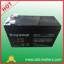 12V 9ah Lead Acid AGM Battery for UPS, Surge Protector, Scooter