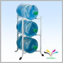 Soporte de pie de metal duradero 3 grados 3 galones Soporte de stand de exhibidor de botella de agua
