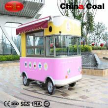 Розовый Уличный Фастфуд Автомобиля