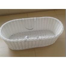 (BC-BA1002) Hot-Sell Handmade Willow Sleeping Baby Basket