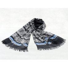 Fashion women 100 cotton stripe scarf