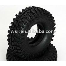Neumáticos de goma RC personalizado y ruedas de goma