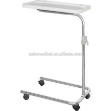 Mesas de comedor de altura regulable para pacientes hospitales