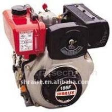 Motor diesel de um cilindro refrigerado a ar