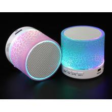 Haut-parleur portatif sans fil de Bluetooth d'article promotionnel de LED