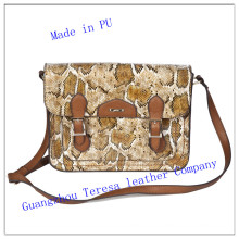 2014 Winter Fashion Lady′s Leather PU Handbag Nmdk-8822