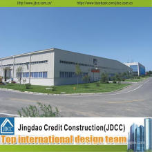 Q235 Q345 Steel Grade and Steel Fabricated House Application Wide Span Light Steel Structure Warehouse