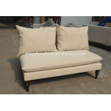 Wholesale Modern Classic French Style Living Room Tufted Linen Fabric Chesterfield Sofa XYN2671
