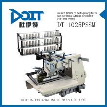 DT 1025PSSM bainha e acolchoado muti-agulha máquina de costura industrial com shirring