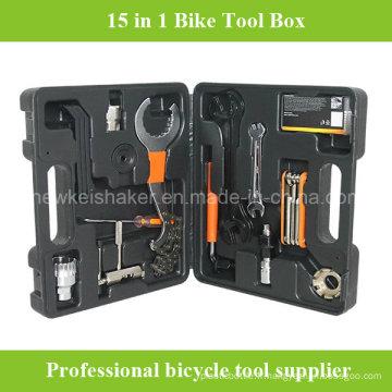 Boîte à outils de réparation de vélo à vélo 15 en 1 moins chère