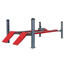 High Quality Four Post Car Lift With Pneumatic Release
